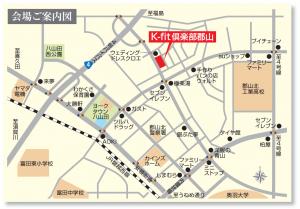 K-fit倶楽部郡山(地図)